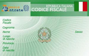 Ідентифікаційний податковий код в Італії
