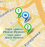 Схема проїзду - Portuñol - Мовний Центр Василя Вишинського